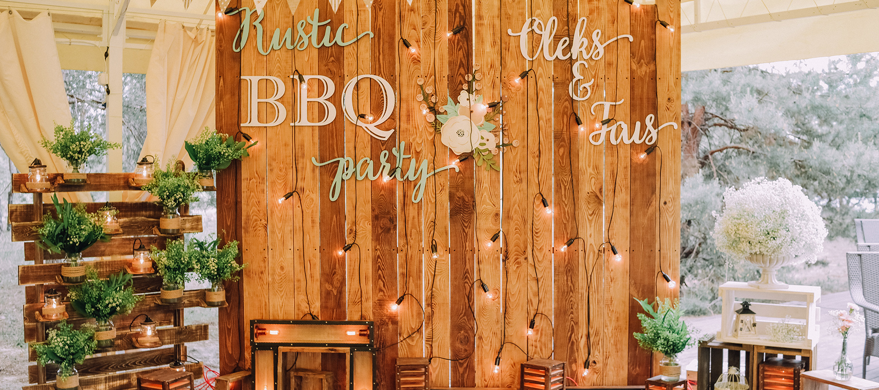 RUSTIC BBQ PARTY