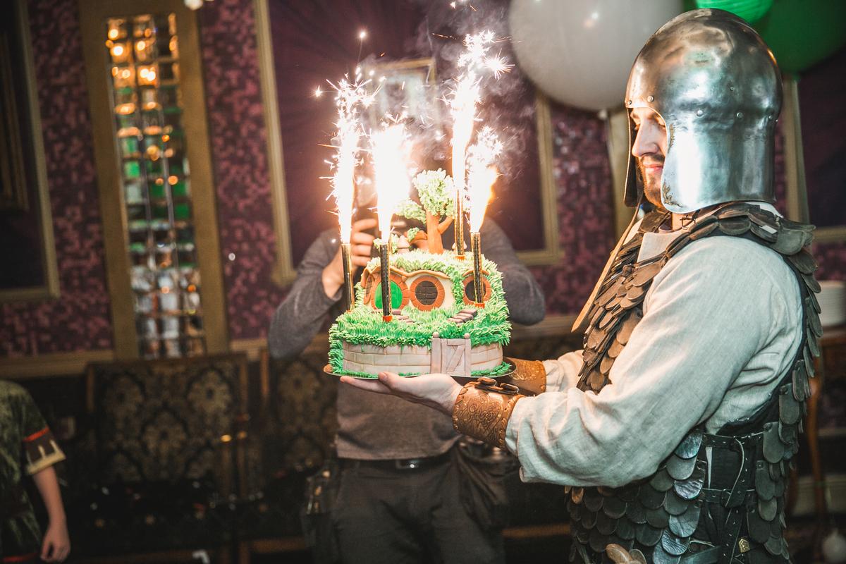 Проект Hobbit birthday party фото img_1877